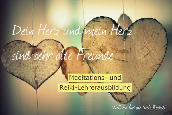Meditations- und Reiki-Lehrerausbildung @ Wellness für die Seele